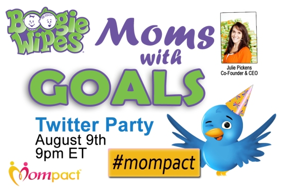 BoogieWipes Mompact Twitter Party